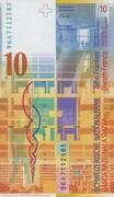 10 francs (8ème série) – revers