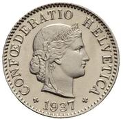 5 centimes Tête de Libertas (nickel) – avers