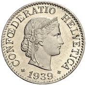 10 centimes Tête de Libertas (nickel) – avers
