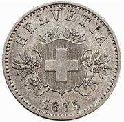 20 centimes Écusson (essai; cupronickel) – avers