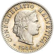 20 centimes Tête de Libertas (cupronickel) – avers