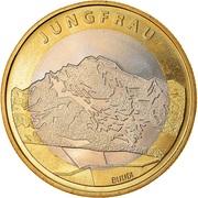 10 francs Jungfrau -  avers