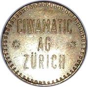 Jeton - Ciwamatic Ag Zürich – avers