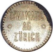 Jeton - Ciwamatic Ag Zürich – revers