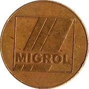 Jeton de lavage automatique - Migrol Service – avers