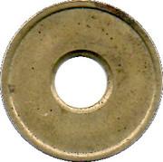 Jeton de lavage automatique - Ferrum R. Theiler SA – revers