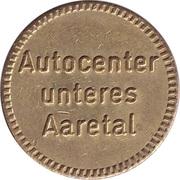 Jeton de lavage automatique - Autocenter unteres Aaretal – avers