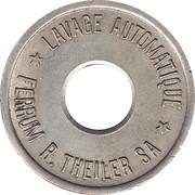 Jeton de lavage automatique - Ferrum R. Theiler SA – avers