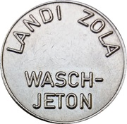 Jeton de lavage automatique - Landi Zola – avers