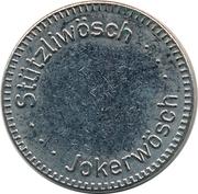 Jeton de lavage automatique - Stützliwösch Jokerwösch – avers