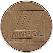 Jeton de lavage automobile - Migrol Wilderswil – avers