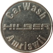 Jeton de lavage automobile - Hilber CarWash (Amriswil) – avers