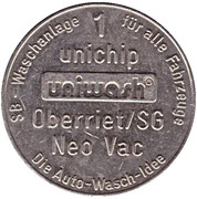 1 Unichip - Uniwash (Oberriet) – avers