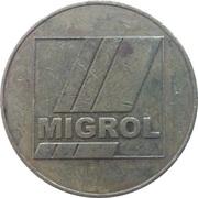 1 franc - Migrol (Regensdorf) – avers