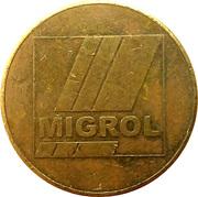 1 franc - Migrol (Sursee) – avers