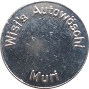 Jeton de lavage automobile - Wisi's Autowöschi (Muri) – avers