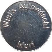Jeton de lavage automobile - Wisi's Autowöschi (Muri) – revers