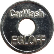Jeton de lavage automobile - Carwash Egloff (Tägerwilen) – avers