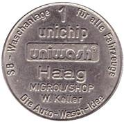 1 Unichip - Uniwash (Haag) – avers