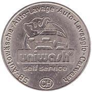 1 Unichip - Uniwash (Haag) – revers