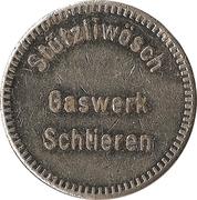 Jeton de lavage automobile - Stützliwösch Gaswerk (Schlieren) – avers
