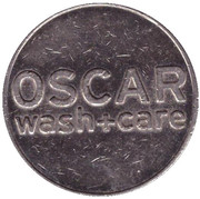 Jeton de lavage automobile - Oscar (Zug) – avers