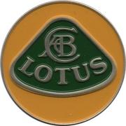 Jeton de chariot - Lotus Cars – revers