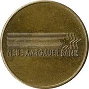 Jeton - Neue Aargauer Bank – avers