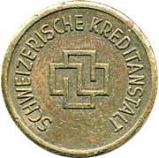 Jeton - Schweizerische Kreditanstalt – avers
