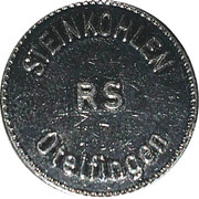 Jeton - Steinkohlen (Otelfingen) – avers