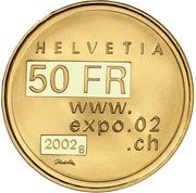 50 francs (Expo'02) -  avers