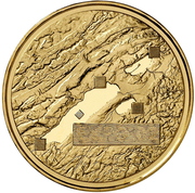 50 francs (Expo'02) -  revers