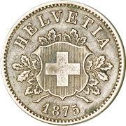 10 centimes Écusson – avers