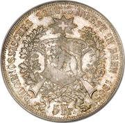 5 francs Berne -  avers