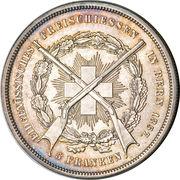 5 francs Bern – avers