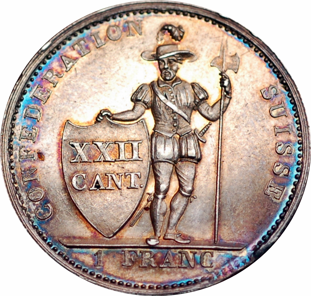 1 franc - suisse
