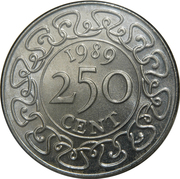 250 cents – revers