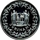 100 Guilders (Jeux olympiques Atlanta 1996) – avers