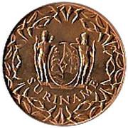 1 cent - Juliana – avers