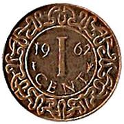 1 cent - Juliana – revers