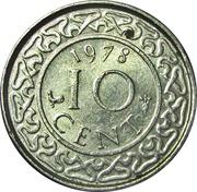 10 cents - Juliana – revers