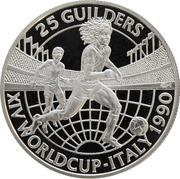 25 Guilders  (R. Gullit) – revers