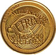 125 000 Gulden (Millénaire) – revers