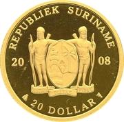 20 Dollars (Antony Nesty) – avers