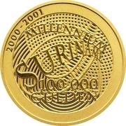 100 000 Gulden (Millénaire) – revers