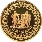 100 000 Gulden (25ème anniversaire de l'indépendance) – avers