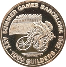1 000 Guilders (Jeux olympiques Barcelone 1992) – revers