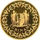 500 Guilders (15ème anniversaire de l'indépendance) – avers