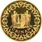 500 Guilders (125ème anniversaire de la Banque du Suriname) – avers