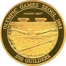 500 Guilders (Antony Nesty) – revers